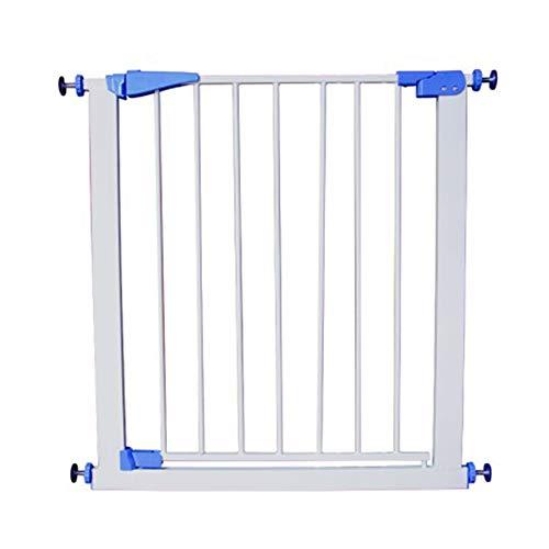 Barrières MAHZONG Fermeture Automatique de la Porte pour Animal de Compagnie, Extension de Porte de 75 à 82 cm (Blanc)