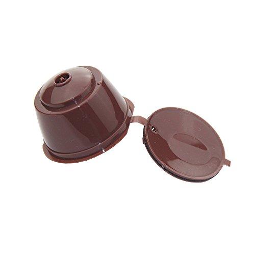 Nachfüllbar Kaffee Kapsel wiederverwendbar Filter für Nescafe Dolce Gusto System 3Pack - 3
