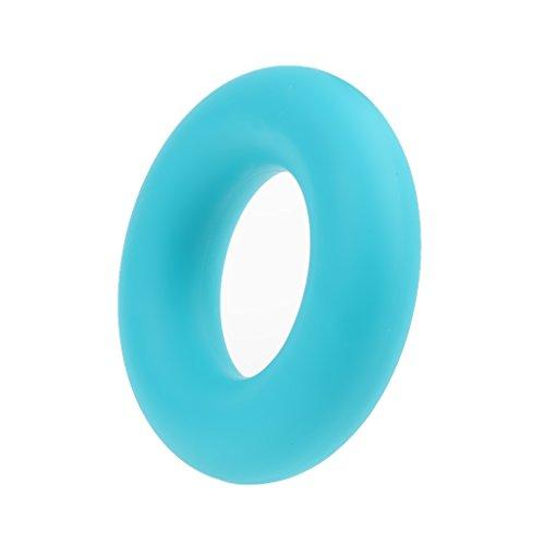 Bleu Silicone Main Formateur Exerciseur de Résistance Anneau Pince de Préhension