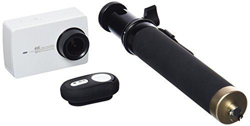 YI 4 K Wi-Fi HD 2,19 Zoll LCD DVR Set 2 Sport Action Kamera mit Selfie Stick und Bluetooth Fernbedienung - Dvr-stick