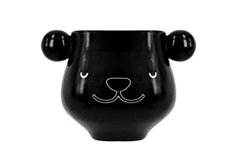 Mug tasse panda original thermoréactif thé ou café noir et blanc céramique