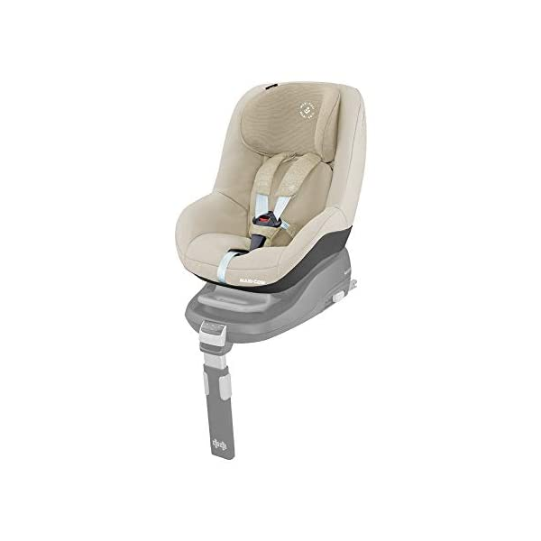 Maxi-Cosi Pearl Toddler Car Seat Group 1, ISOFIX Car Seat, Compact, , 9 Months - 4 Years, 9-18 kg, Nomad Sand Maxi-Cosi Suitable to use from 9 to 18 kg (approximate 9 months to 4 years old) Use with the Maxi-Cosi FamilyFix base, which confirms correct installation through interactive feedback Easy-in harness stays open to easily get the child in and out in seconds 1