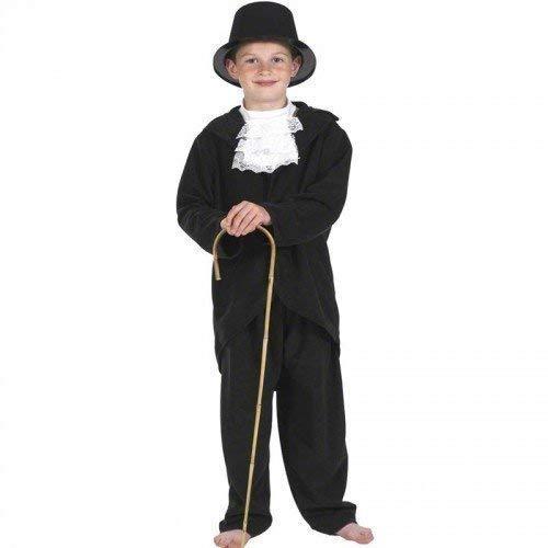 Fancy Me Jungen Schwarz Weiß Reich Viktorianisch Charles Dickens Büchertag Kostüm Kleid Outfit 7-9 - Viktorianischen Charles Dickens Kostüm