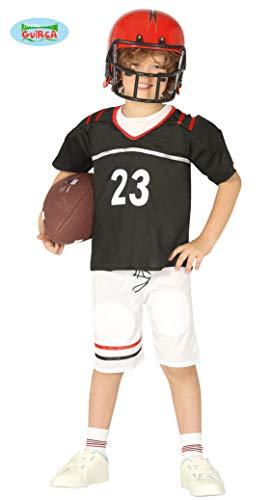 Football Kinder Kostüm Spieler - Football Spieler - Kostüm für Kinder Gr. 110 - 146, Größe:128/134