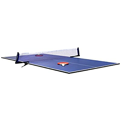 Charles Bentley 6ft Indoor Folding Table Tennis Ping Pong Table Top Board Use With Snooker Pool Table Dining Table Includes 3 Balls 2 Bats 1 Net 2 Net Clips - inexpensive UK light store.
