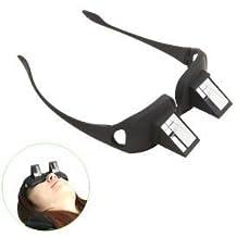 ESMM® unisex de las lentes prismáticas para la visión horizontales horizontales Prism anteojos para leer acostado en la cama O para ver la televisión