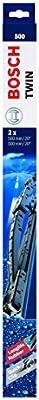 Bosch 3397118560 Twin 500 - Limpiaparabrisas (2 unidades, 500 mm)