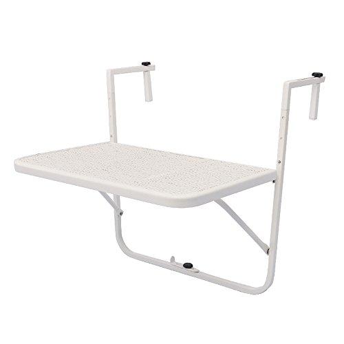 df509d7cdefa3 LINA Table Pliante - Table Suspendue réglable en Hauteur Table Suspendue  pour Balcon, extérieur,