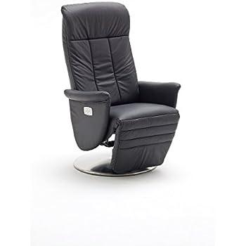 relaxsessel modernes design leder elektrisch verstellbar 130 kg schwarz k che. Black Bedroom Furniture Sets. Home Design Ideas