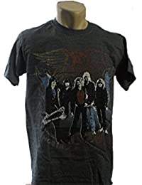 Aerosmith - Vintage Band T-Shirt (M, Grau)