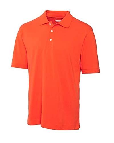 Cutter & Buck Herren Poloshirt, Piqué, Gr. XXXL, College Orange -