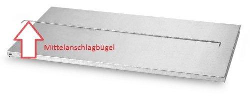 Mittelanschlagbügel für Aktenregal Zubehör 5 Stück