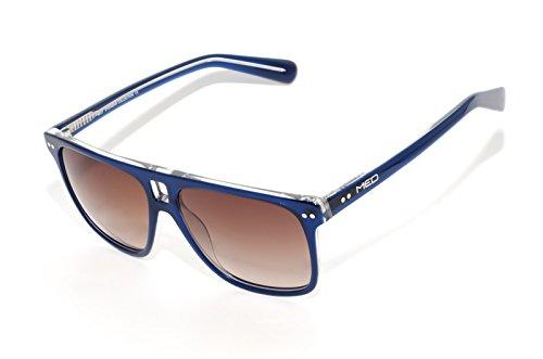 rainbow safety Herren Sonnenbrille MED Limitierte Edition UV400 Schutz Verlaufsglas O1006-BL
