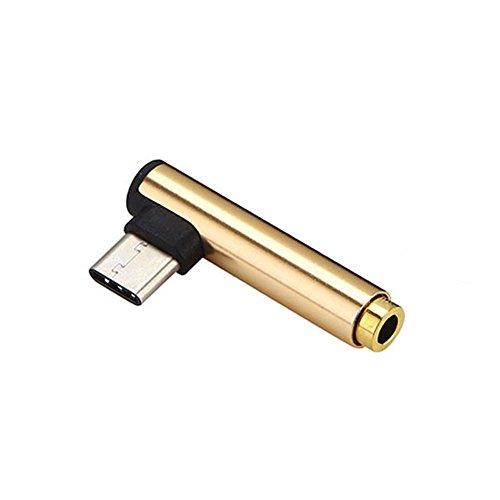 ROKOO USB 3.1 Typ C zu 3,5 mm Kopfhöreranschluss für Xiaomi 6 Note3 Huawei Mate 10 Z10 (Note3-kopfhöreranschluss)