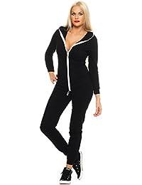 Jumpsuit Damen * Gr. S M L XL * Jogger Jogginganzug Trainingsanzug Overall Jumper Einteiler