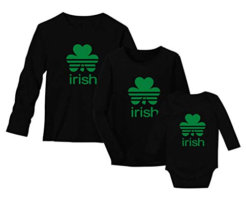 Green Turtle Set Patrick Irish Family Set B Noir 12M / H Noir Large/F Noir XX-Large