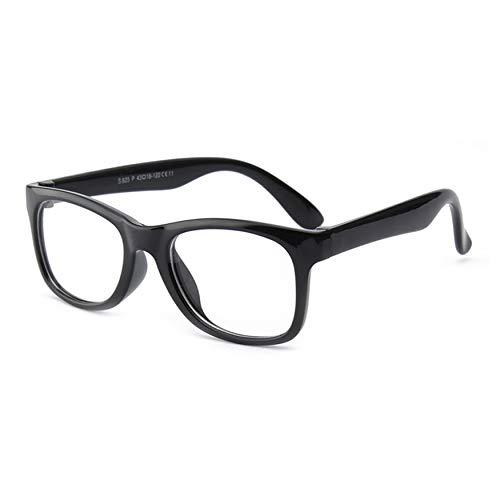 Yaoaoden Children's Eyeglasses Frame Silicone Glasses Frame Baby Toddler Kids Eyewear No Lenses for Girls Boys