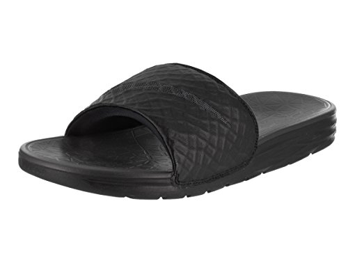 Nike Benassi Solarsoft, Tongs Homme noir/anthracite