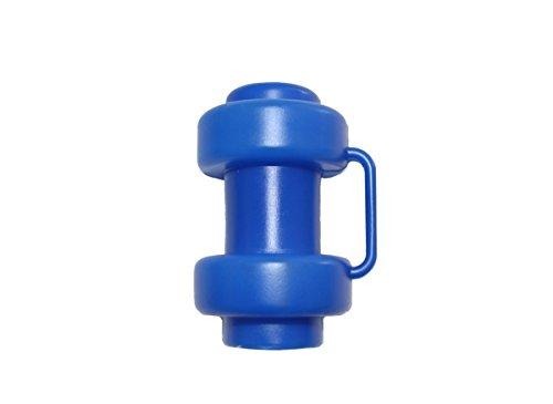 8 Stück Blaue Kappen für Innenliegendes Sicherheitsnetz Stangen Ø 25 mm Ersatzteil