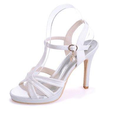 RTRY Scarpe Donna Seta Stiletto Heel Punta Aperta Sandali Matrimoni/Parte &Amp; Sera Scarpe Matrimonio Più Colori Disponibili US5 / EU35 / UK3 / CN34