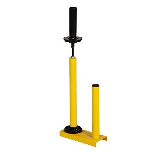 1 Handabroller für Stretchfolie in gelb Stretchfolienabroller thumbnail