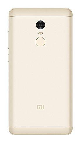 Xiaomi Redmi Note 4 Smartphone SIM doble 5 5   4GB 64GB 4G LTE   Con Google Play  Blanco/Oro  [Versión Europea]