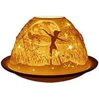 """Welink–Portavelas para velas de té de 7,6cm, diseño """"Hadas nocturnas"""" (LD90044)"""