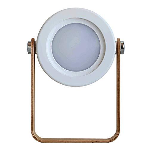 RJDJ LED tragbar Umweltschutz Laterne Nachtlicht kleine energiesparende tragbare Faltung Dimmen USB-Aufladung Lesebett Touch-Schalter