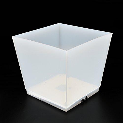 P Prettyia LED Flaschenkühler - Sektkühler - Weinkühler - Getränkekühler - Kühler für Wasser, Wein, Sekt, Champagner - 10L - USB Betrieben