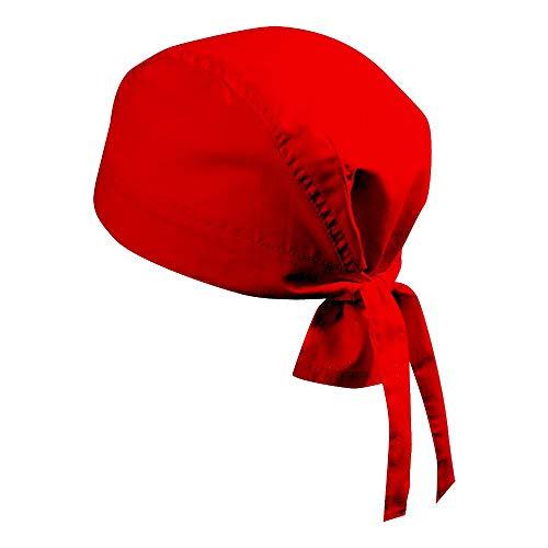 Myrtle Beach - Bandana Hat | Kopftuch, one size, rot (Piraten-outfits Für Männer)