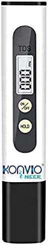 Konvio Neer Imported Tds Meter for RO Water/TDS Testing Meter, Digital LCD Tds Meter, Water Filter Tester for