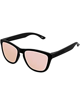 Hawkers Carbon Black Rose Gold One,  Gafas de Sol Unisex, Negro/Rosa