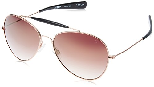 9dde525b84e9f Spy 0648478753358 Optic Unisex Presidio Happy Lens Collection Sunglasses  Rose Gold With Black Merlot Fade With Gold Mirror One Size Fits All- Price  in India