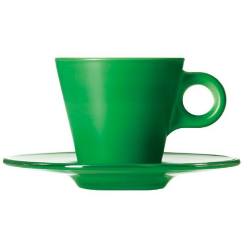 LEONARDO HOME GK/Set Espresso grün Ooh.
