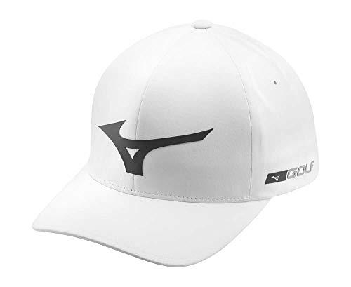 Mizuno Herren Tour Delta Baseball Cap, Weiß (Blanco/Gris 01), One Size (Herstellergröße: LXL) (Performance Socke Mizuno)