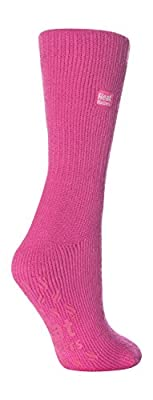 Ladies Thermal Heat Holders Slipper Socks 4-8 uk - 37-42 eur