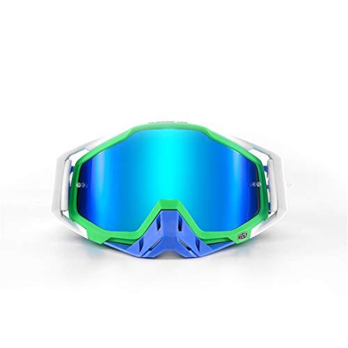 LUHUIYUAN Schutzbrillen Motorradbrillen, die im Freien Langlaufbrillen Skibrillen Fahren,B