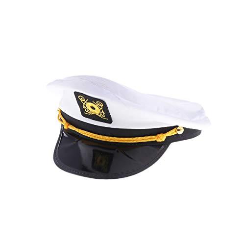 Amosfun Polizei Kostüm Erwachsene Hut Party Rollenspiel Performance Requisiten Zubehör - Machen Seemann Kostüm