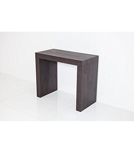 Group Design Console Table Extensible Twist différents Couleurs Made in Italy - Blanc frêne