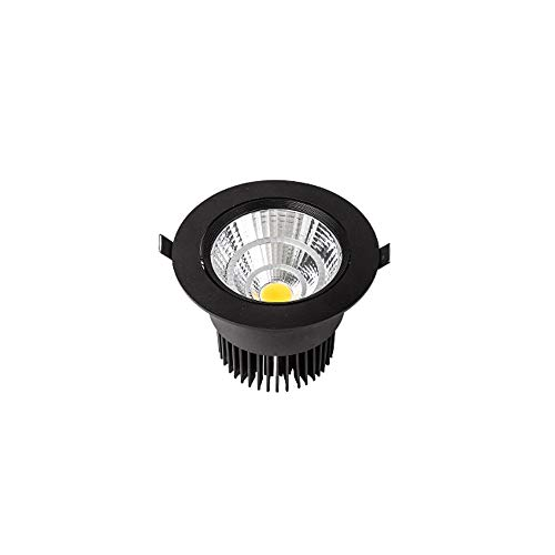 Haushalts Embedded COB Reflektierende Tasse Decken Panel Licht Dekoration Zeigen Highlight Led Einstellbare Augenschutz Einbaustrahler Innen Drehbare Lange Lebensdauer Downlight ()