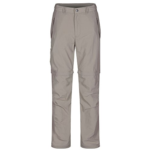 Regatta Great Outdoors Herren Leesville Zip Off Hose (W34L) (Pergament) -