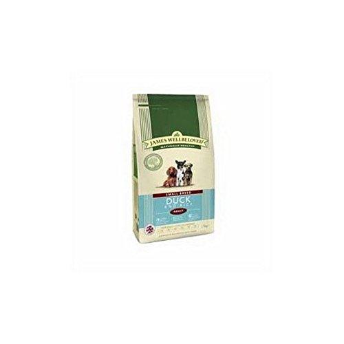 James Wellbeloved Hundefutter Hundefutter Ente und Reis Erwachsene Kleine Rassen (7,5kg (6Stück)