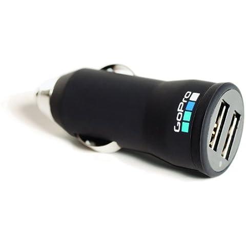 GoPro Auto Charger - Cargador USB para el coche, negro