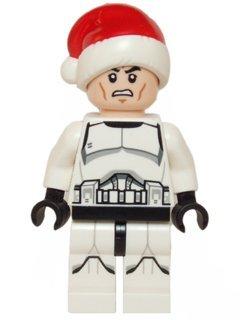 LEGO Star Wars: Clone Trooper Mit Weihnachtsmann Hat - Star Wars Spielzeug Clone Lego