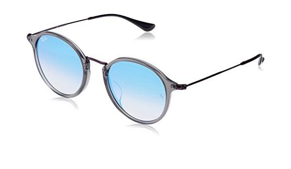 3a1b875e5c Ray-Ban Men s RB2447NF Sunglasses Trasparent Grey   Blue Flash Gradient  52mm  Amazon.de  Bekleidung