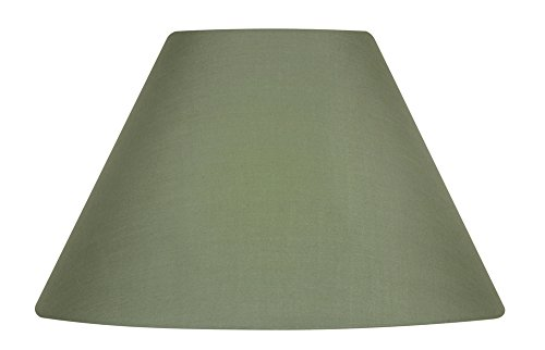 Fabric, Wine Oaks Lighting Cotton Coolie Shade 12-inch