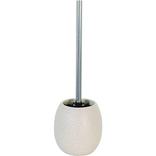 Brosse WC céramique beige pierre