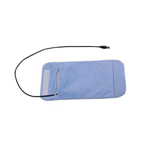 TOYMYTOY USB Baby Flaschenwärmer Tragbar Säuglingsflasche Tasche für Unterwegs Resie Auto (Blau)