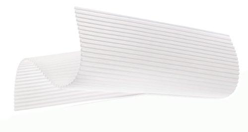 Lékué Futo-Makisu - Alfombra de silicona para sushi, color blanco width=