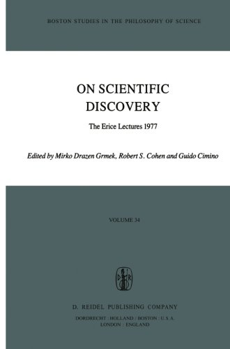 on-scientific-discovery-the-erice-lectures-1977-volume-34